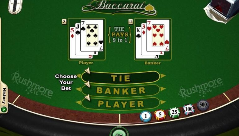 Baccarat Promotions Increase The Risk For Game Enjoyable
